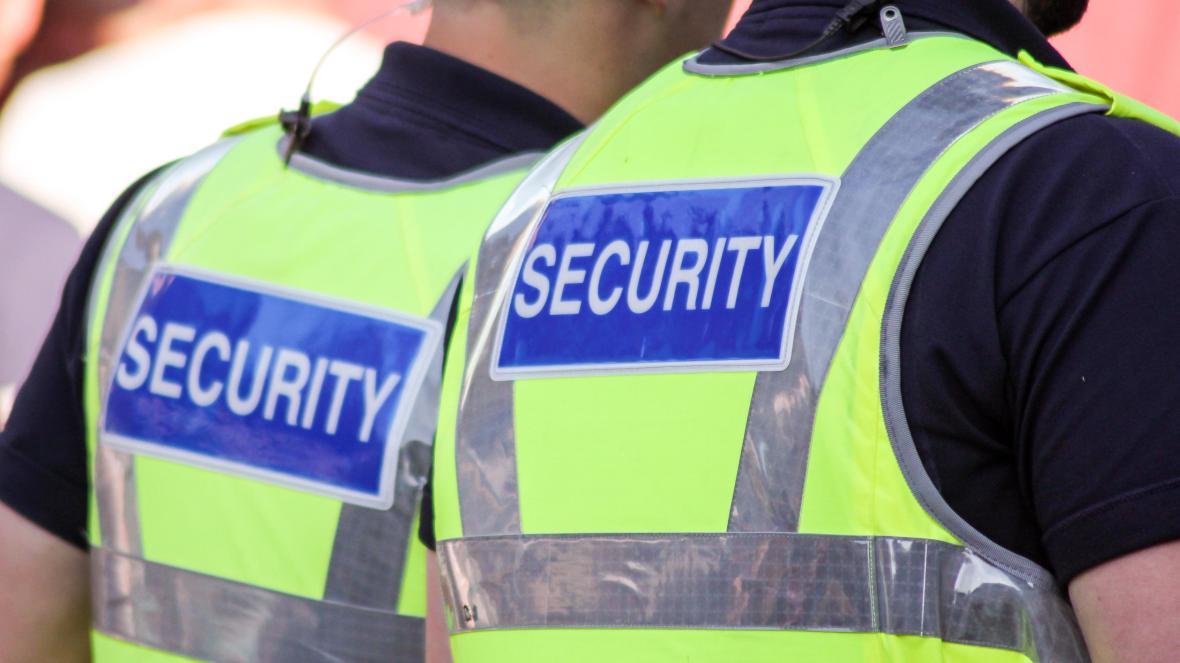 Private security guards in Birmingham