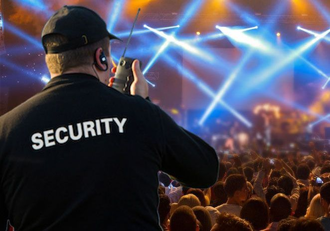 ESP events security staff